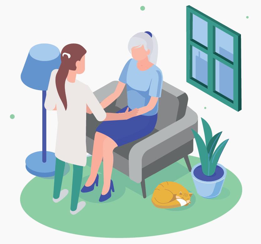 Cure infermieristiche a domicilio- Gentilcure
